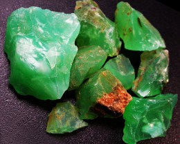 74.86 CTS A GRADE GREEN OPAL [PRASE OPAL] TANZANIA [VS5911]