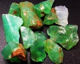 74.85 CTS A GRADE GREEN OPAL [PRASE OPAL] TANZANIA [VS5913]