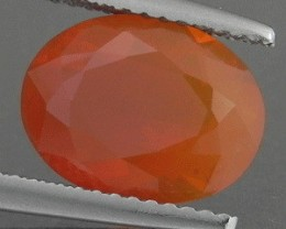 2.47 Cts NATURAL YELLOW ORANGE MEXICAN FIRE OPAL GEM NR 1$