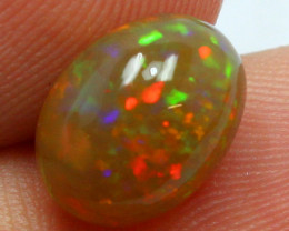 2.80 CTS TOP ETHIOPIAN OPAL RED FIRE STONE DOUBLE SIDED A9670