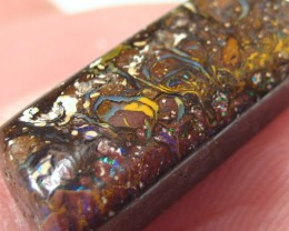 OpalWeb - Australian Boulder Opal Pendant  - 9.30Cts