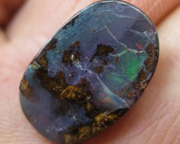 COLOURMINE OPALS~DRILLED VALUE BOULDER OPAL,9.00.CTS.