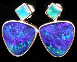 22.50 CTS DOUBLET EARRING/CHALCENDONY-FACTORY DIRECT SOJ2203