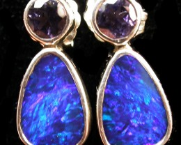 13.00 CTS DOUBLET WITH WATER SAPPHIRE[IOLITE] SOJ2188