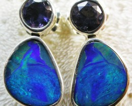 13 CTS DOUBLET WITH WATER SAPPHIRE[IOLITE] SOJ2191