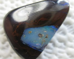COLOURMINE OPALS~DRILLED RARE YOWAH NUT OPAL,30.00.CTS.