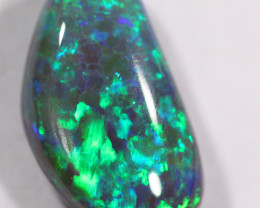 1.23 cts Stunning Black Opal From Lightning Ridge (R1625)