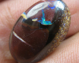 COLOURMINE OPALS~PATTERNED BOULDER MATRIX OPAL, 10.20CTS.