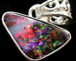 Boulder Opal & Gemstone Pendants