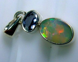 9 CTS SOLID OPAL  SILVER PENDANT  OF-129