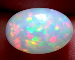 SUPERBE WELO OPAL CRISTAL FROM ETHIOPIA 5,17 CARATS