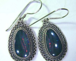 43.50CTS  DOUBLET SILVER EARRINGS-FACTORY DIRECT [SOJ2222 ]