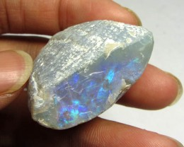 80 CTS VIDEO LIGHTNING RIDGE  BLACK OPAL SHELL  JO2162