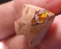 BOULDER OPAL CARVING ARROW FOR NECKLACE