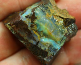 126.70 CTS FACED AND SHAPED BOULDER OPAL READY TO POLISH