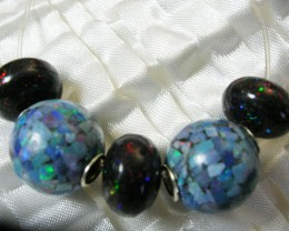 Mix bead strand Mozaic and Roundel LMJ/ 36