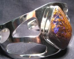 OpalWeb -  Cts .925 Sterlig Silver Opal BRACELET