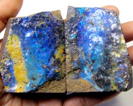 874 CTS ELECTRIC BLUE GREEN SPLIT SPECIMEN  MMM45