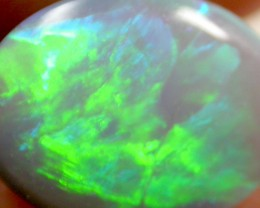 1.15 CTS BRIGHT GREEN OLIVE FLASH  RIDGE  OPAL    PL26