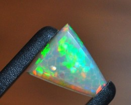 3.20ct ETHIOPIAN WELLO CRYSTAL HONEYCOMB MASTERCUT GEM OPAL - REDUCED