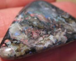 Unusual Sugar Treated Andamooka Matrix Opal.