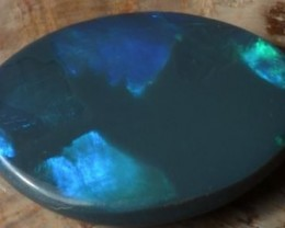 1.9 CTS BLACK OPAL CUT STONE L.RIDGE BK-71