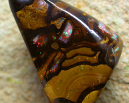 65.09  CTS BEAUTIFUL PATTERNED YOWAH STONE [AUY140 ]