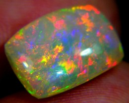 5.54Ct Rainbow BROADFLASH COLOR PLAY PATTERN OPAL BRIGHT 5/5