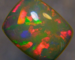 "2.46Ct Bright 5/5 Rainbow ""PUZZLE RIBBON"" Pattern Welo Opal"