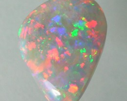 LIGHTNING RIDGE SOLID OPAL 1.18ct #202M233