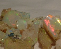 Stunning Bright Rough Welo Opal Parcel 150ct
