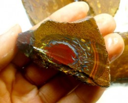 0.356 KILO   BOULDER OPAL SLICED ROUGH   PL 274