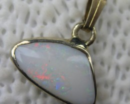 OPALLOVERS OPALS>6.35.cts ELECTROPLATED  OPAL PENDANT.