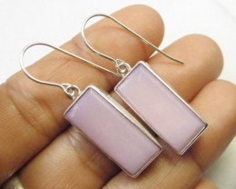 PINK PERU  S/S SHEPPARD HOOK EARRINGS     CF 264