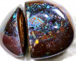 KOROIT OPAL NUT PAIR COLLECTOR PC 442.35 CTS GC