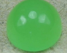 2.91 Cts Natural Green Opal Peru Gemstone