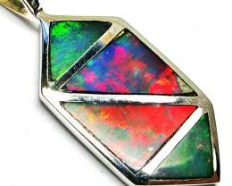 Inlay Opal Pendants