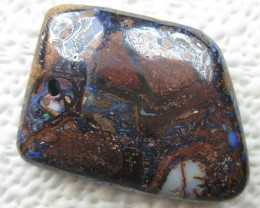COLOURMINE OPALS>83.20.cts DRILLED BOULDER MATRIX OPAL