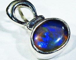 5.37 CTS SOLID OPAL PENDANT SILVER-FACTORY DIRECT  [SOJ2730]