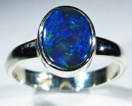 9.5 RING SIZE SOLID OPAL FACTORY DIRECT [SOJ2760]SH
