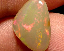 4.1ct Awesome gray base perfect polished Welo opal
