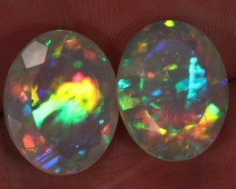 21.435ct. Faceted. Superior Quality. Welo Ethiopian Opal