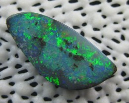 COLOURMINE OPALS>9.30.cts LOVELY BRIGHT FLASH  BOULDER OPAL