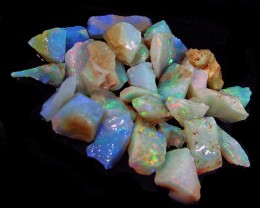 Coober Pedy White Opal Rough