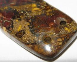 Drilled Matrix Opal.