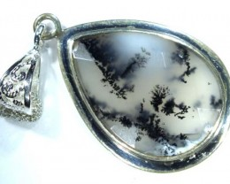 33 CTS  DENDRITIC OPAL  PENDANT  OF-851