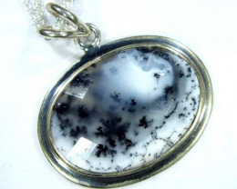 33 CTS  DENDRITIC OPAL  PENDANT   OF-861