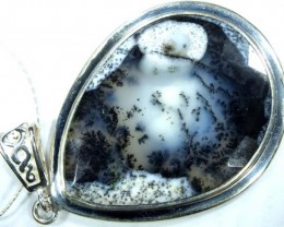 50 CTS DENDRITIC OPAL  PENDANT  OF-864