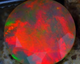 1.56Ct ~SPECTACULAR VOLCANO ERUPTION FLAME FIRE Welo Faceted