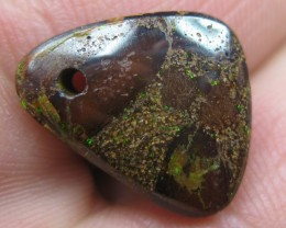 OPALLOVERS OPALS>7.90.cts DRILLED BOULDER MATRIX OPAL